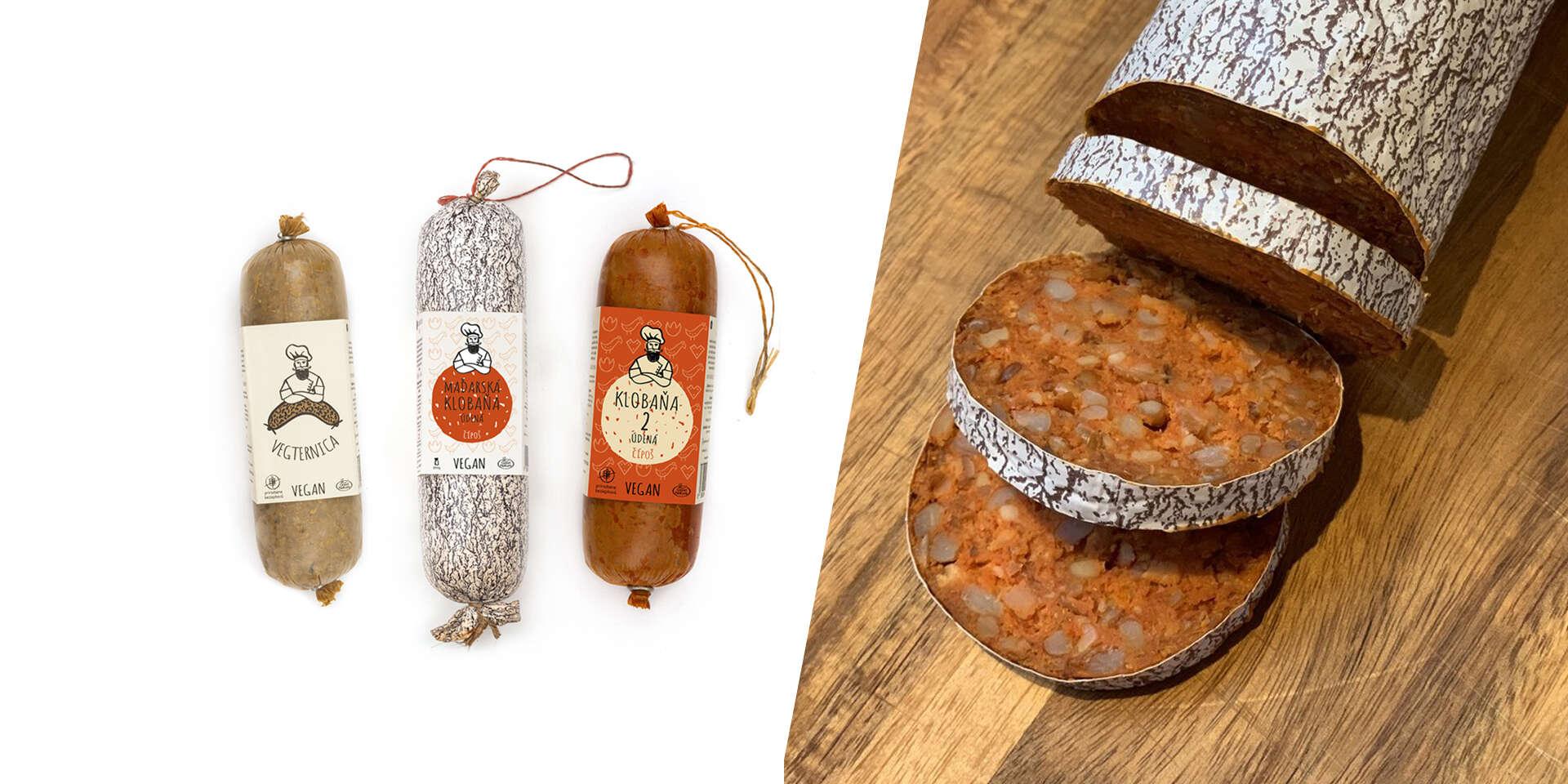 NOVINKA: Vegánske klobásky a jaternice s autentickou chuťou (100 % prírodné)