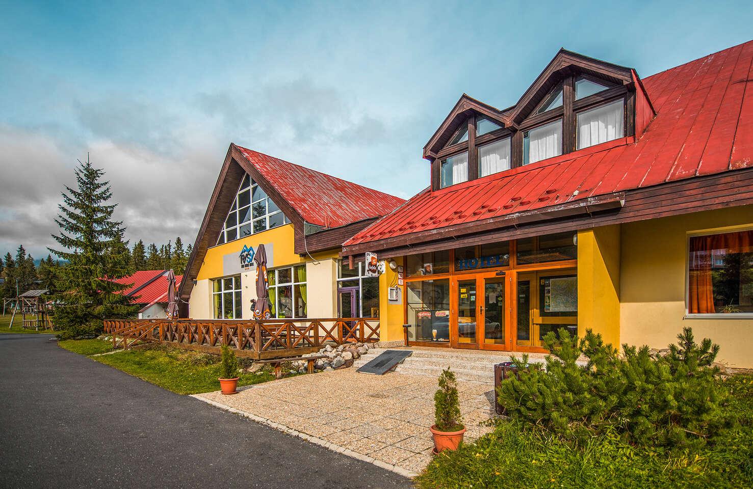 Rodinný hotel Rysy*** vo Vysokých Tatrách s polpenziou, wellness a s jedným dieťaťom do 6 rokov cene