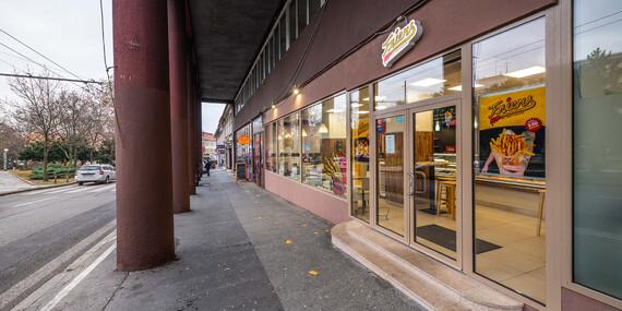 Street food od Friers na Kolárku/Bratislava - Staré Mesto