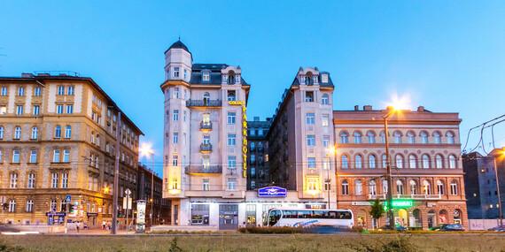 Impozantný Golden Park Hotel**** v centre Budapešti s raňajkami a pohodlnými posteľami/Maďarsko-Budapešť