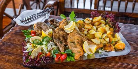 Misa plná rýb pre 2 – 3 osoby v Oáze pri Dráždiaku / Bratislava – Petržalka