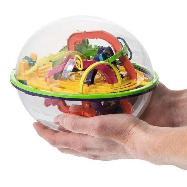 Tip na darček: Návyková lopta Intellect Ball s 3D bludiskom vycibr...