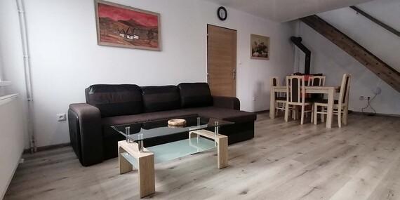 Apartmány až pre 6 osôb medzi Nízkymi a Vysokými Tatrami / Liptovský Hrádok
