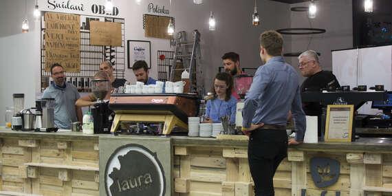 Kurz přípravy kávy espresso a cappuccino s teoretickou i praktickou částí i dárkem navíc/Ostrava
