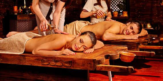 Luxusný ayurvédsky masážny balík pre jednotlivca alebo pár + darček/Bratislava - Staré Mesto