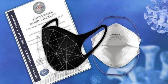 NOVINKA: Nanomaska s patentovanou technológiou, respirátor FFP2 či 50x rúško/Slovensko