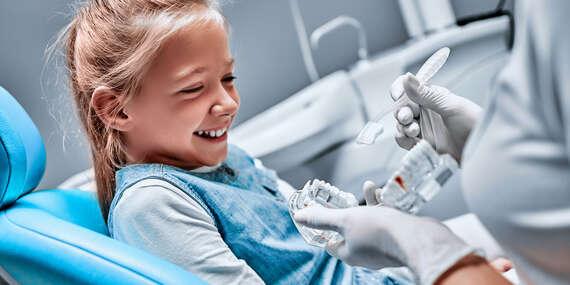 Black & White Dental Clinic: Dentálna hygiena pre deti s inštruktážou pomôcok + detská kefka a diplom zadarmo/Bratislava – Petržalka – Vienna Gate