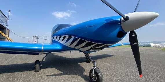 Vyhliadkový let alebo adrenalínový voľný pád so stavom ZERO GRAVITY/Letisko Očová - Sliač
