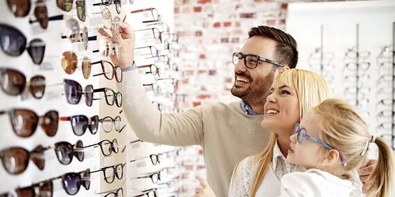 Zľava až do 50 % na okuliare v predajni Lens Optik De Rossi v Karlovej Vsi / Bratislava – Karlova Ves