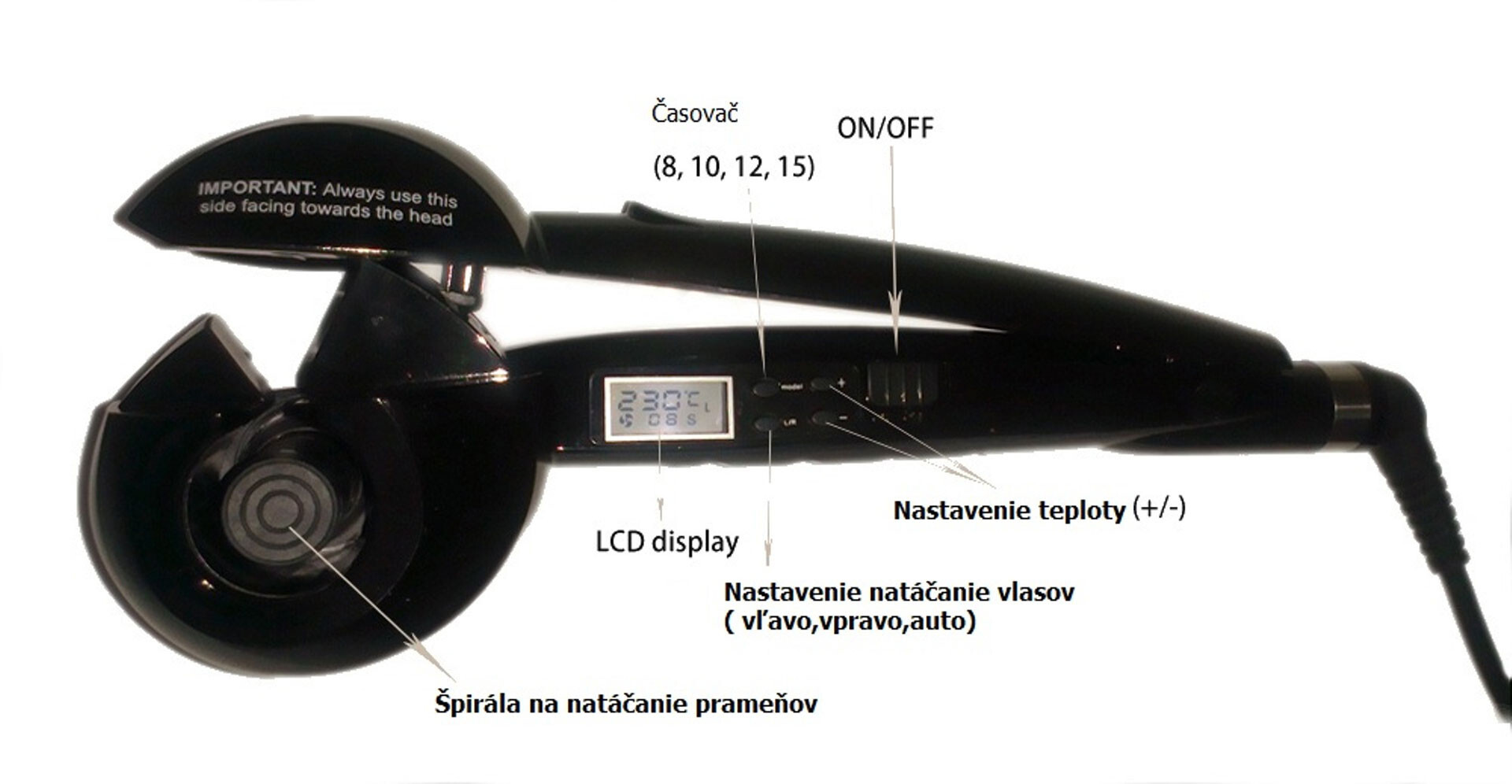 Dokonalé kučery za pár sekúnd a bez popálenia s LCD kulmou, Slovensko |  ZľavaDňa
