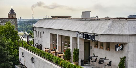 Grilovaný juhoamerický strip loin steak v Restaurant Parlament/Bratislava – Staré Mesto