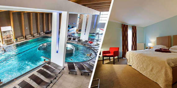 Hotel Impiq**** s možnosťou vstupu do Aquaparku Trnava, polpenziou a cykloprehliadkou/Trnava