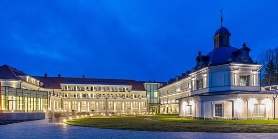 Luxusný oddych s wellness, procedúrami, Zlatým kúpeľom a aquaparkom v hoteli Royal Palace*****, s platnosťou až do decembra 2020 / Turčianske Teplice