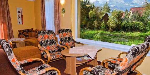 Dovolená jen 50 m od Studeného potoka v lesním prostředí Tater se snídaní, platí i během Vánoc/Vysoké Tatry - Tatranská Lomnica