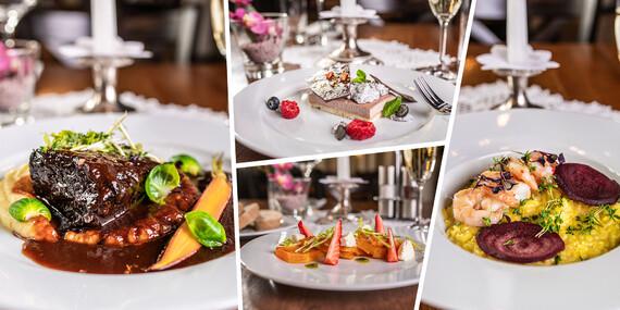 Romantické menu v reštaurácii Hradná hviezda v prostredí Bratislavského hradu / Bratislava - Staré Mesto