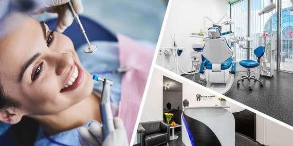 Black & White Dental Clinic: Vynikajúco hodnotená moderná ambulancia, ktorá vám vyčarí krásny úsmev/Bratislava – Petržalka, Vienna Gate