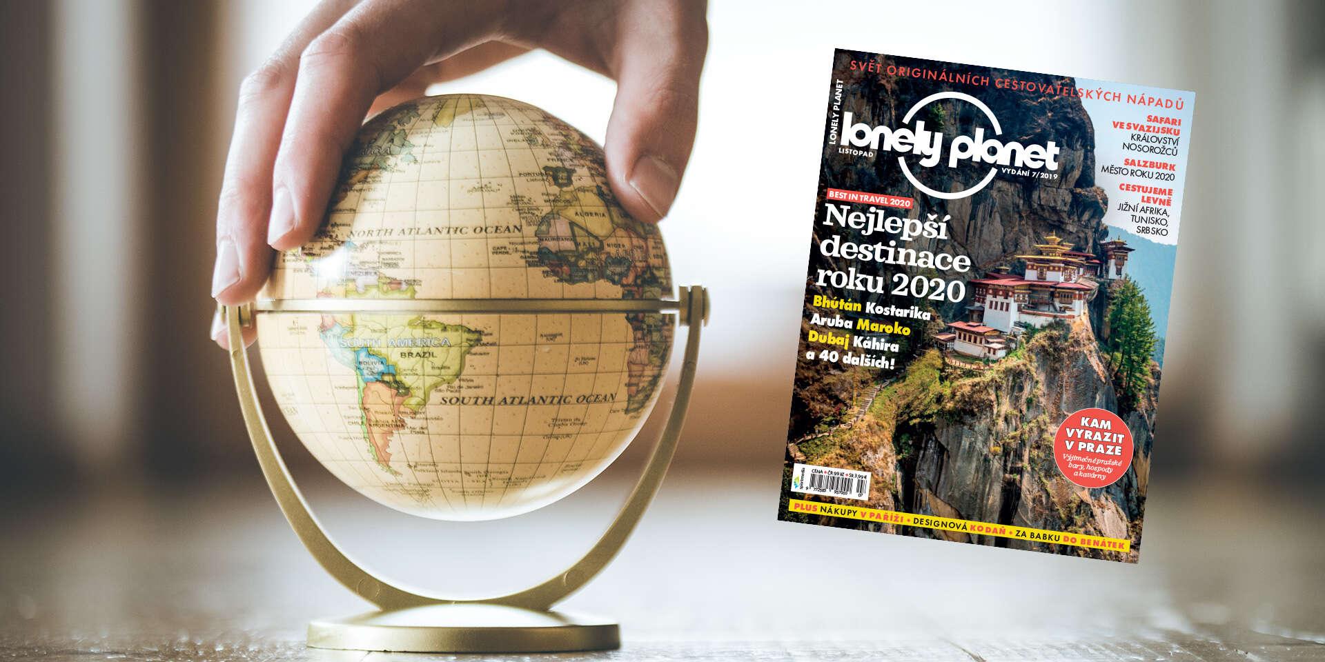 Magazín pre nadšencov cestovania - 6 vydaní časopisu Lonely Plane...