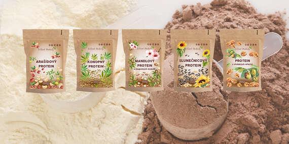 Výborné rastlinné proteíny v RAW kvalite bez pridaných konzervantov a sladidiel/Česká republika