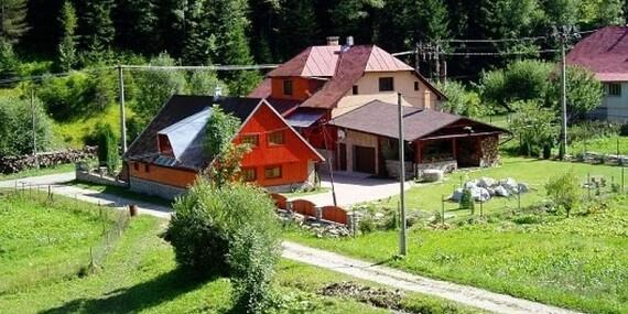 Rodinná dovolenka s privátnym wellness v oravskej obci s polpenziou a dieťaťom do 6 rokov v Zázrivskom Dvore/Malá Fatra - Zázrivá
