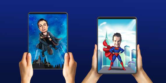 Kúzelné prekreslenie vašich fotiek do sveta superhrdinov – tip na darček/Slovensko
