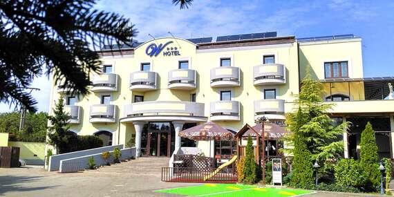 Horúce wellness a noc s raňajkami pre dvoch vo W Hoteli*** v Bratislave / Bratislava - Devínska Nová Ves