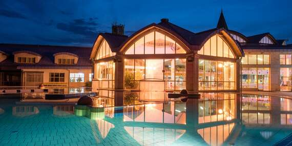 Hotel Wolf*** s polpenziou len 9 minút od slávnych kúpeľov Sárvár/Sarvár, Maďarsko