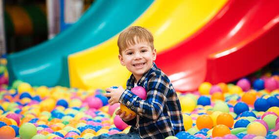 Neobmedzená zábava pre vaše deti v rodinnom zábavnom centre KONGO / Žilina