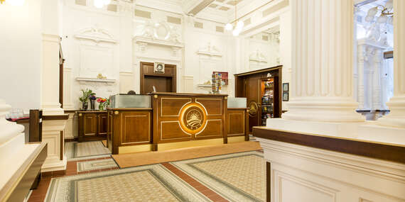Stylové ubytování v centru Prahy v Boutique Hotelu Seven Days**** se snídaní a wellness / Praha