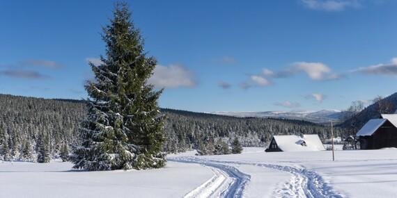 Zimní radovánky i valentýnská romantika u Národního parku Šumava v penzionu Klášterský Mlýn s polopenzí/Šumava - Rejštejn
