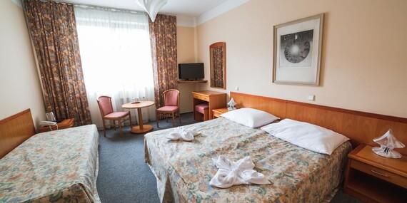 Ubytování a snídaně pro dva v hotelu Dalimil *** jen 4 zastávky od centra města Prahy/Česko - Praha