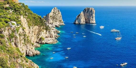 Úžasný 4-dňový letecký zájazd Neapol, Capri, Vezuv a Pompeje/Neapol, Capri, Vezuv a Pompeje