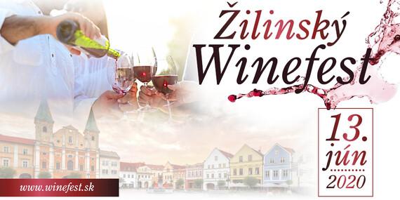 Vstupenka na Žilinský Winefest - spojenie milovníkov a producentov excelentného slovenského vína / Žilina - Mariánske námestie a okolité ulice