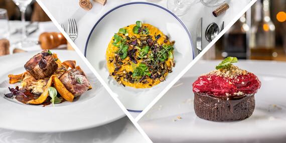Obľúbené 3-chodové darčekové menu pre dvoch v TOP reštauráciách Bratislavy – Au Café, Portofino, Leberfinger / Bratislava – nábrežie Dunaja