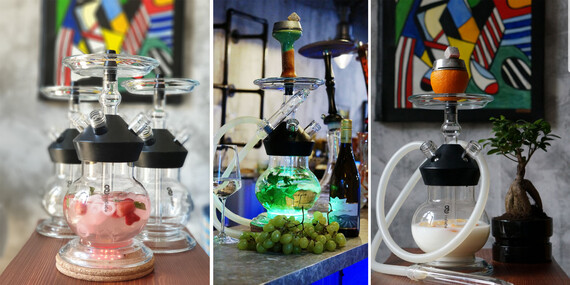 Chill pri vodnej fajke v dizajnovom lounge Smoking.hookah/Trnava