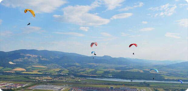 paragliding na donovaloch