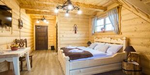 Izba Design v penzióne Zbojnícka koliba v Oravskej Jasenici