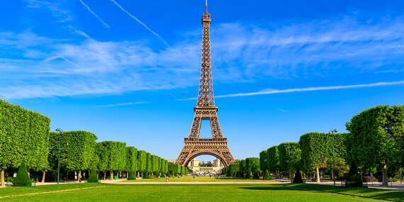 Letecký zájazd do Paríža a Versailles na 4 alebo 5 dní s ubytovaním v hoteli, raňajkami a prehliadkou mesta so sprievodcom/Zájazd: Paríž - Francúzsko