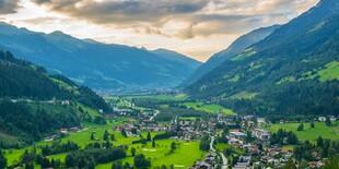 Obľúbené kúpeľné a lyžiarske stredisko Bad Gastein v Rakúsku