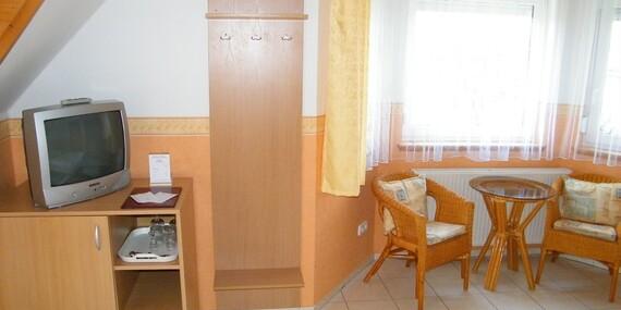 Oáza pokoja v penzióne Andrea*** s polpenziou, neobmedzeným wellness a vstupom do Hévízu/Maďarsko - Cserszegtomaj