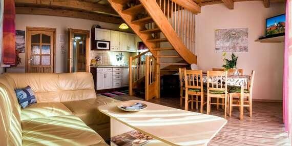 Pobyt v útulných liptovských chatách so saunou pre 4 až 6 osôb/Liptov – Liptovský Trnovec