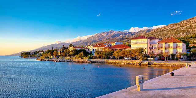 Chorvátsko na 8 dní vo Vile Etno Domček v nádhernom prostredí Paklenickej riviéry priamo pri mori