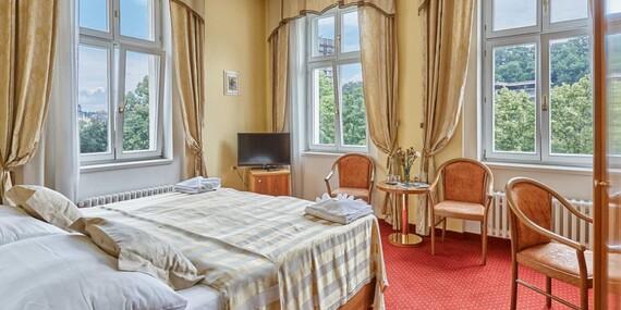 Spa hotel Sirius**** v historickém centru lázeňského města Karlovy Vary se vstupem do saunového světa a polopenzí / Karlovy Vary