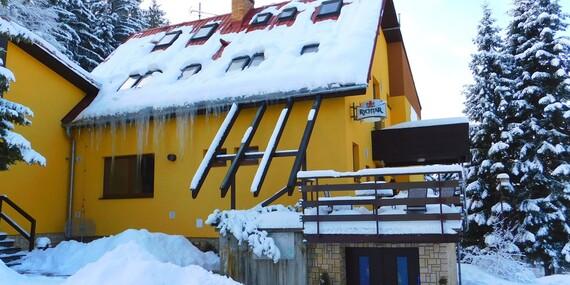 Beskydy v penzionu Na Lukách s polopenzí, saunou a skvělým zázemím pro sport + v zimě skibus zdarma/Beskydy - Horní Bečva