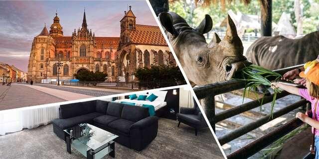 Rodinný alebo zážitkový pobyt v Košiciach so vstupom do ZOO alebo zážitkovou jazdou v safari a pivnou tour.