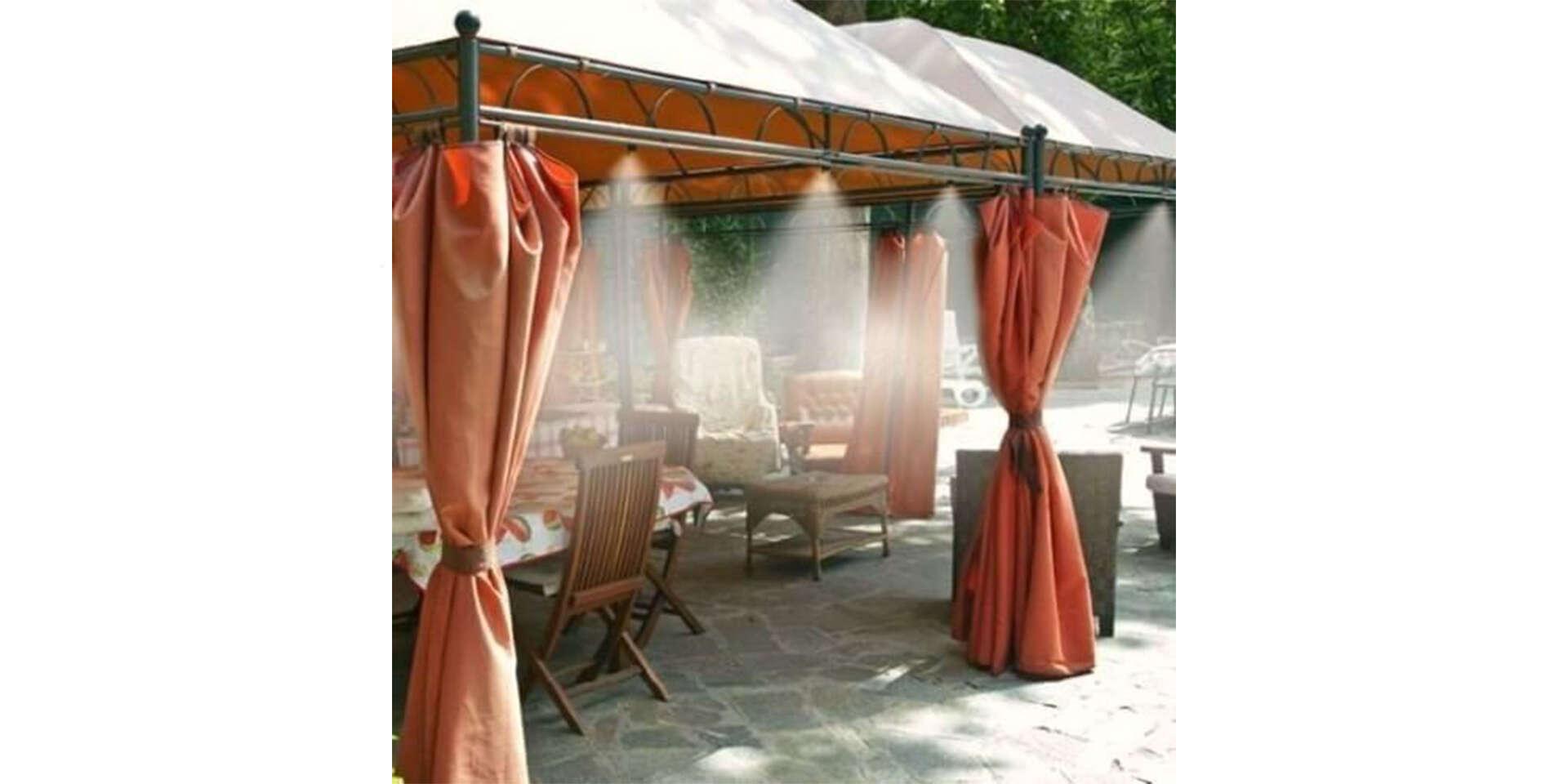 Chladiaci systém do záhrady s 10 tryskami na vodnú hmlu - na výbe...