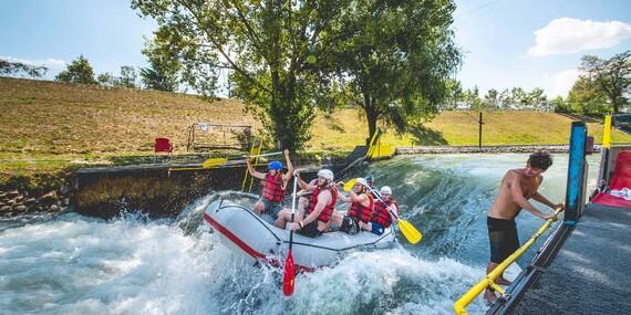 Rafting na Divokej Vode/Bratislava – Čunovo