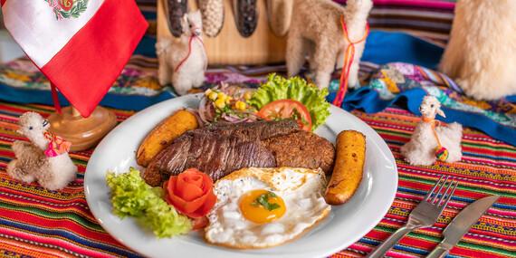 Tacu tacu montado de quinua - pre 1 osobu, alternatíva aj pre vegetariánov v Casa Inka/Bratislava - Ružinov