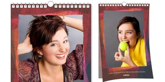 Nástěnný kroužkový fotokalendář ve formátu A3/ČR