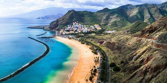Dovolenka na Kanárskych ostrovoch – Tenerife s výhľadom na oceán / Španielsko - Tenerife
