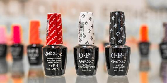 Gellak americkou značkou OPI alebo gélové nechty/Bratislava – Staré Mesto